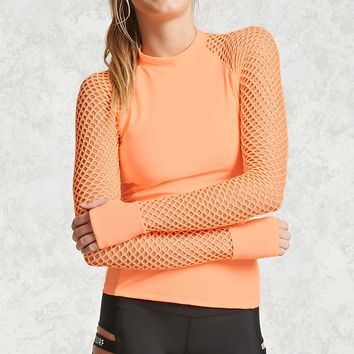 Athletic Mesh Top