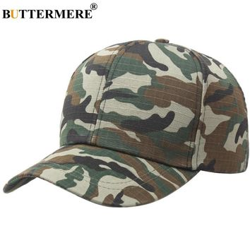 Trendy Winter Jacket BUTTERMERE Men Women Army Baseball Caps Camouflage Snapback Camo Hat Cotton Army Green Spring Summer Casual New Unisex Golf Hat AT_92_12