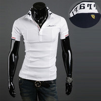 Ferrari Slim Polo Shirt