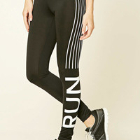 Active Run Graphic Leggings