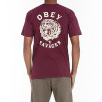 TIGER SAVAGES BASIC TEE