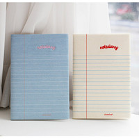 2NUL Lined notebook undated diary scheduler