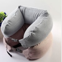 FUNIQUE Japanese Style U-shape Pillow Travel Neck Pillow Cotton Pillows Massager Nanoparticles U Pillow Side Sleepers