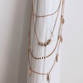 Our Feels Gold Layered Necklace