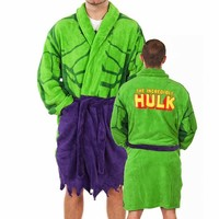 Men's Marvel Comics Incredible Hulk Dressing Gown : TruffleShuffle.com