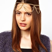 ASOS Snake Chain Hair Band