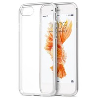 CRYSTAL CLEAR TRANSPARENT FLEX GEL TPU SKIN CASE COVER FOR APPLE iPHONE 7/8 - Walmart.com