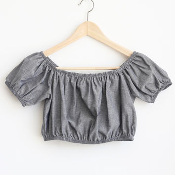 Annie Shoulder Crop