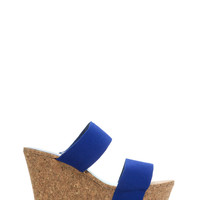 Try Me Slip-On Platform Wedges