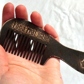 Beard comb Vintage style Comb for beard Wooden Comb Dad gift Idea for gift  Gift for dad