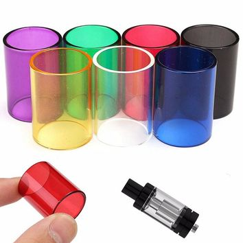 4ml Pyrex Glass Tube for Melo 3 Eletronico Atomizer Cartomizer Clearomizer Cigarette Vaporizer Stained Glass Tubing Gifts