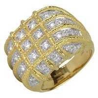 Torrini Designer Rings Wallstreet - 18K Yellow Gold Diamond Ring