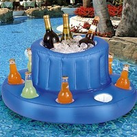 Inflatable Pool Bar: Toys & Games