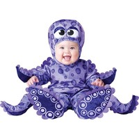 Tiny Tentacles Octopus Costume - Baby (Purple)