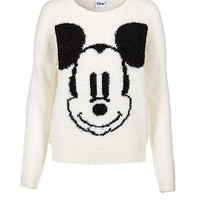 Cream Mickey Mouse Jumper