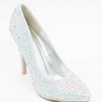 """Wedding Shoes with 3"""" Heels (Style """"Mindy"""" 95-1)"""