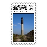 Oak Island Lighthouse Postage Stamp