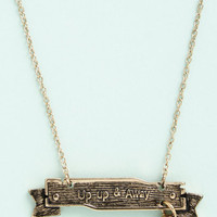 ModCloth Americana Flying the High Road Necklace