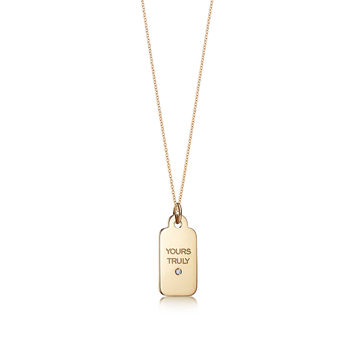 "Tiffany & Co. - Tiffany Charms:""Yours Truly"" Tag"