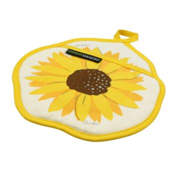 Charles Viancin Silicone Sunflower Pot Holder