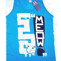 ToastyCo. Clothing! Cute Clothing that comes with free skittles!— MEOW! Tank top