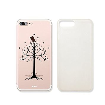 Gondor Tree Lord Of The Ring Clear Transparent Plastic Phone Case for Iphone 7PLUS_ SUPERTRAMPshop (iphone 7 plus)