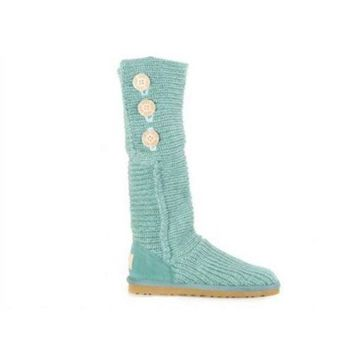 ICIKIN2 Ugg Boots Cyber Monday Knit Classic Cardy 5819 Green For Women 81 14