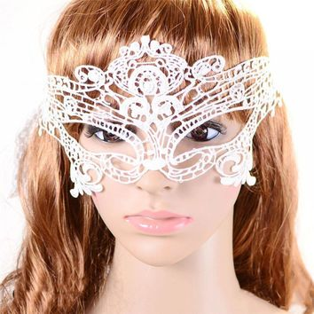 Sexy Costume Lace Eye Flower Mask Venetian Masquerade Ball Party Xmas Gift