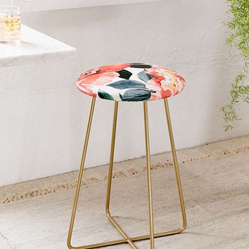 Marta Barragan Camarasa For Deny Floral Counter Stool | Urban Outfitters