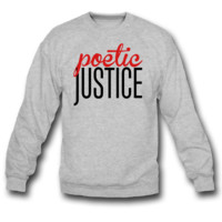 Poetic Justice SWEATSHIRT CREWNECKS