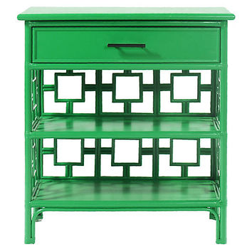 Sobe Nightstand, Bright Green - Nightstands - Bedroom - Furniture | One Kings Lane