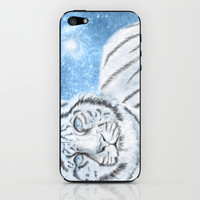 Ethereal White Tiger iPhone & iPod Skin by Susaleena