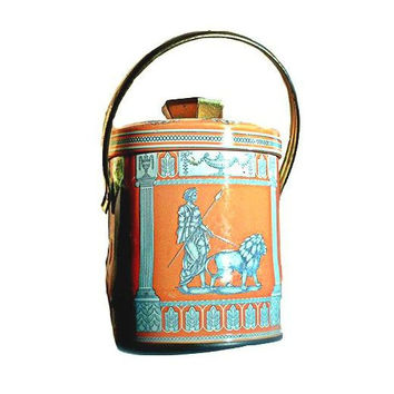 Candy container - Orange - England Vintage - Roman style