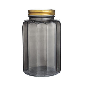 Glass Jar with Lid - from H&M