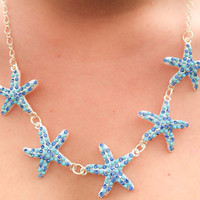 Starfish Statement Necklace