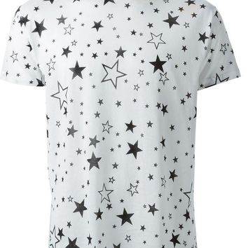 CREYONJF Saint Laurent star print T-shirt