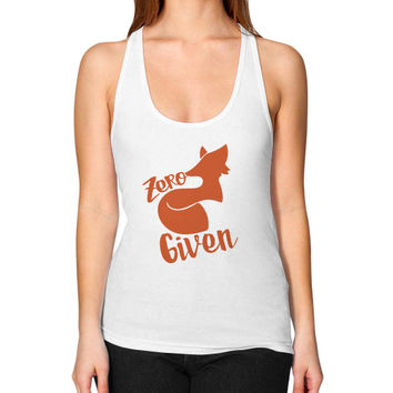 Zero Fox Given Women's Racerback Tank