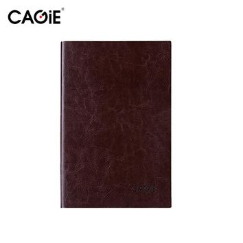 CAGIE 2016 Vintage Leather Planner Organiseur Agenda Notebook Business Office Daily Memos Notepad Personal Diary Journal