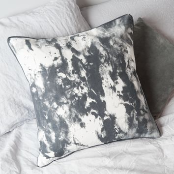 Painterly Cushion - Grey - Indoor Living