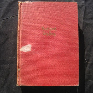 1920s to 1930s Edition The Works of Kipling in One Volume Hardcover No Dust Jacket