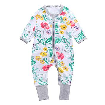 Baby romper long-sleeved cotton Similar Baby Boy Girl Clothing Children's Clothing Clothing pineapple Set Body Suits