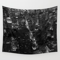 Night Lights Wall Tapestry by Brian Biles | Society6
