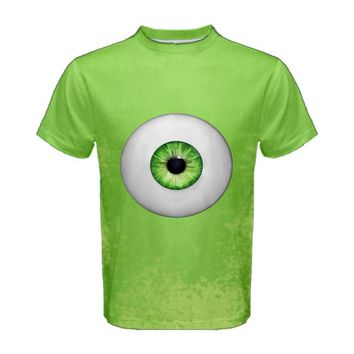 Men's Mike Wazowski Monsters Inc Inspired ATHLETIC Shirt