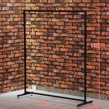 Manhattan, NYC style, clothing rack, garment rack, store fixture, shoe rack-
