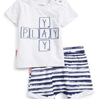 SOOKIbaby Play T-Shirt & Shorts Set (Baby & Toddler) | Nordstrom