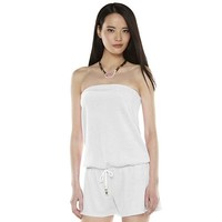 Juicy Couture Strapless Cover-Up Romper - Women's