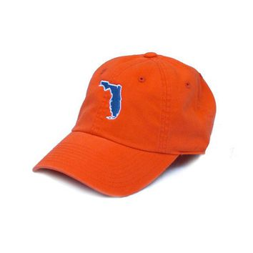 Florida Gainesville Gameday Hat in Orange by State Traditions