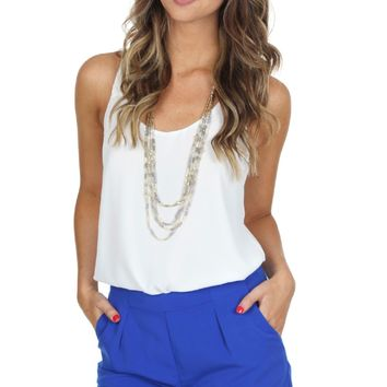 Cobalt Tailored Shorts