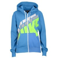 Nike Club Stacked Full Zip Hoodie - Women's