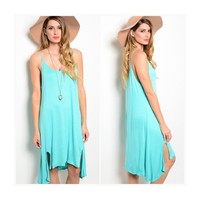 • Summer Mint Dress •